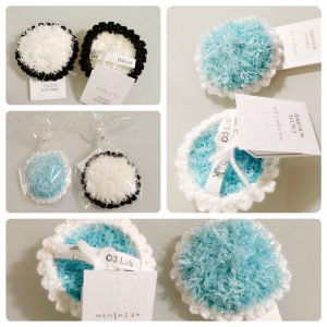 O3 Lab – Eco Face Scrubbie by handmade